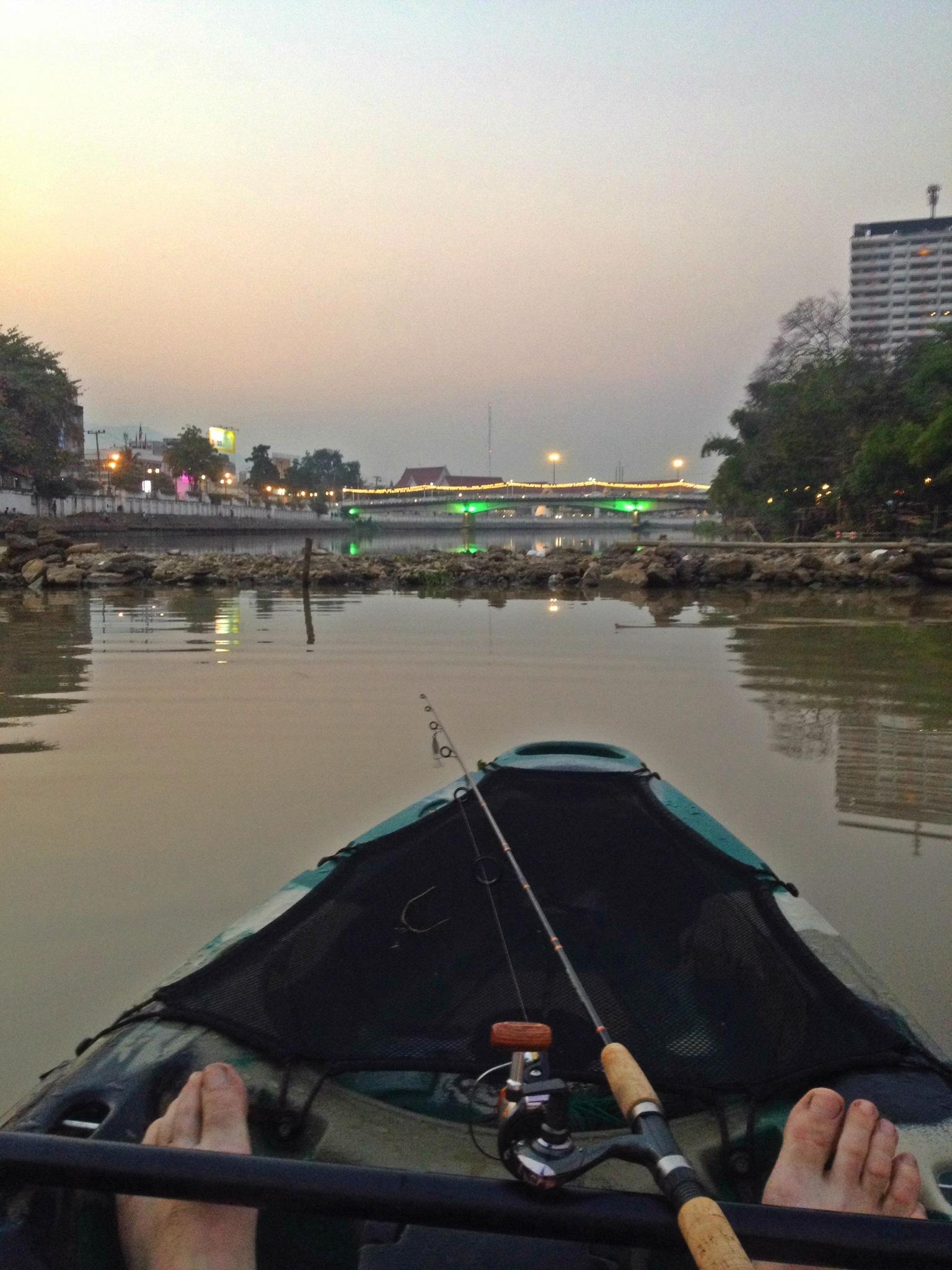 Fiskeri i skumrings-tid